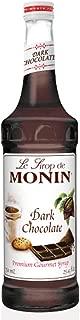 Monin Dark Chocolate Syrup, 750 ml
