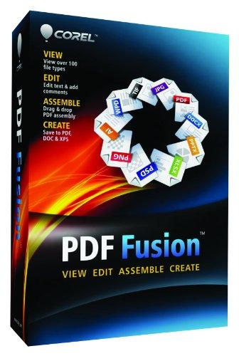 Corel PDF Fusion Document Management Suite [PC Disc]