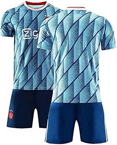 Uniforme de camisa de fútbol Juego de camisetas de fútbol, 20-21 AJAX AWAY SOFTER SHORT SHORTS Jerseys de fútbol, equipo de entrenamiento de equipo Jerseys, camisa de fútbol para adultos Disfraz d