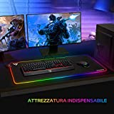 Zoom IMG-2 victsing tappetino tastiera mouse gaming