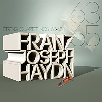 Franz Joseph Haydn: String Quartet Nos. 63-65