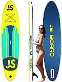 Tabla de Surf Hinchable con Fibra de Carbon Paddle Tabla Inflable de Paddle Surf de construcción ultrarresistente 335 x 81 x 15cm Carga hasta 150kg