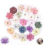 Flores De Seda Artificial Pequeña Margaritas Multicolor Mini...