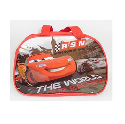 Sac à goûter pour Enfant CARS RSN Disney - 23x20x9cm - avec poignée - 351