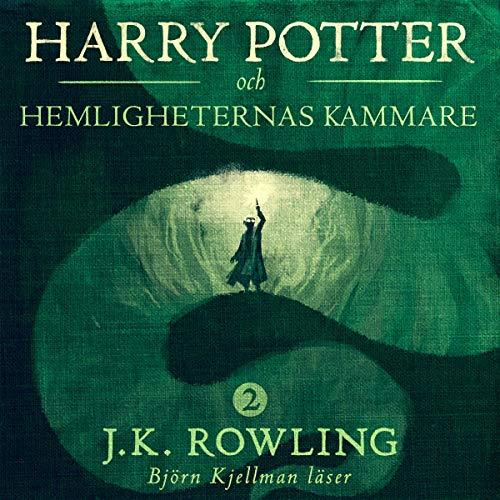 Harry Potter och Hemligheternas kammare audiobook cover art