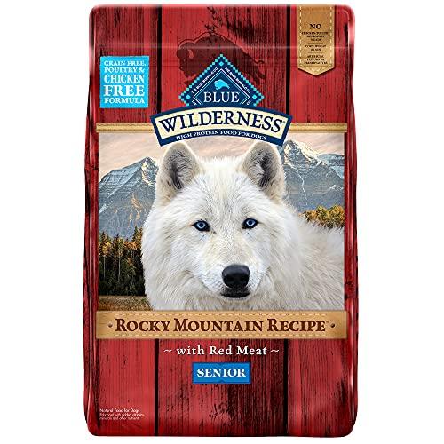 Blue Wilderness Natural Senior Dry Dog Food Red Meat