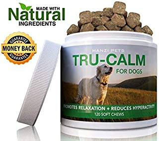 Sponsored Ad - Hanzi Pets #1 Calming Aid for Dogs   for Hyperactive & Aggressive Behavior   Stress & Separation Anxiety   ...