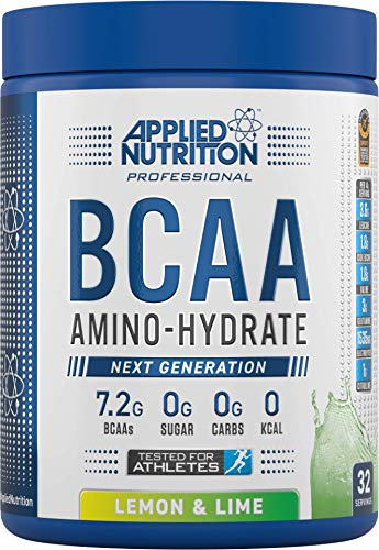 Applied Nutrition BCAA Amino Hydrate Drink-Mix, Lemon and Lime