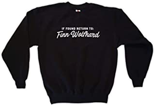 Outsider. Men's Unisex If Found Return to Finn Wolfhard Sweatshirt