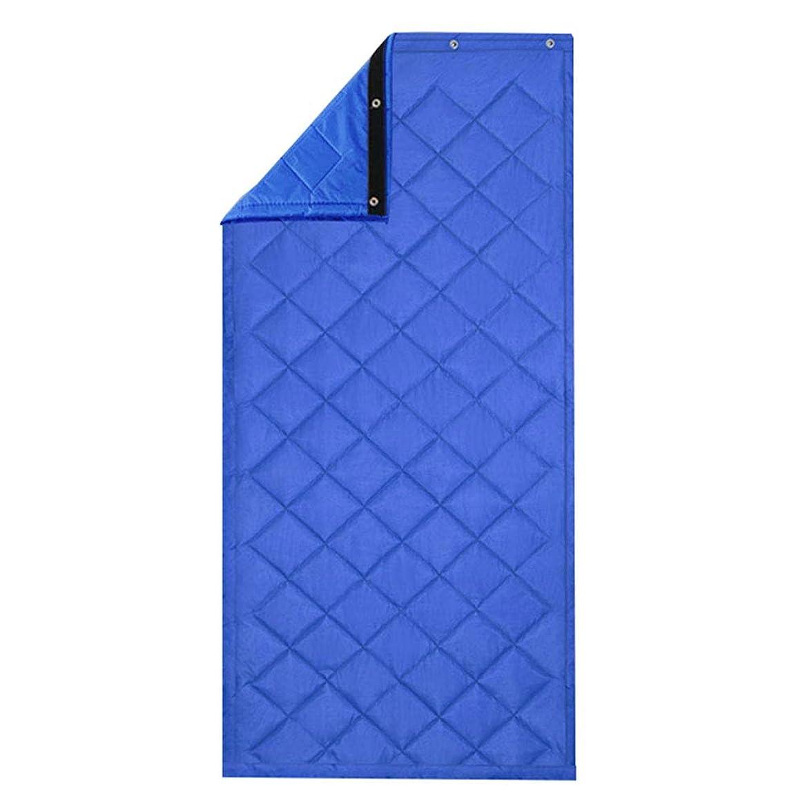 クラッシュ排除する群れWUFENG ドアカーテン 暖かく保つ 厚い 防風 遮音 パーティションカーテン 家庭、 5色 複数のサイズ カスタマイズ可能 (色 : B, サイズ さいず : 120x220cm)
