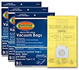 EnviroCare Replacement Vacuum Bags for Kenmore Canister Q 50555, 50558, 50557 and Panasonic Type C-5 27 Pack,...