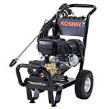 工進(KOSHIN) エンジン式 高圧 洗浄機 15MPa 車輪付タイプ JCE-1510UK 自吸 水道直結 農機具 強力 洗浄 粗皮削り