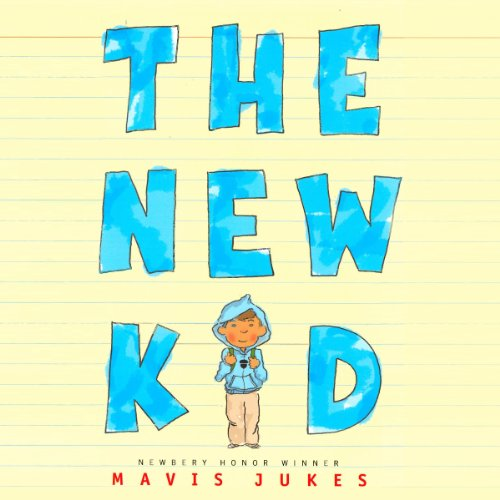 The New Kid audiobook cover art