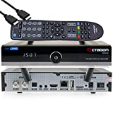 OCTAGON SF8008 4K UHD HDR Twin Sat - Receptor de disco duro (2 x DVB-S2X Multistream, E2 Linux, IPTV, Smart TV Box, Media Server, PVR con función de grabación, incluye cable HDMI y Dual WiFi)