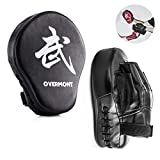 <span class='highlight'><span class='highlight'>Overmont</span></span> 2PCS Curved Punch Mitts Punching mitts Boxing Pads Boxing glove target pad for Karate Kickboxing MuayThai MMA Martial Art UFC Brazilian Jiu Jitsu Kick Boxing Practice