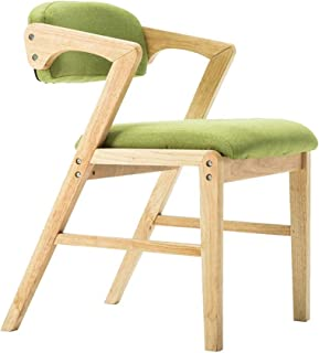 SJHQ Sillas de comedor de cocina, sillas de comedor, para sala de estar, dormitorio, oficina, balcón, comedor, cocina (color: verde)