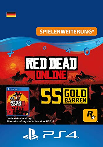 Rockstar Games Red Dead Redemption 2: 55 Goldbarren (DLC) - PS4 Download Code