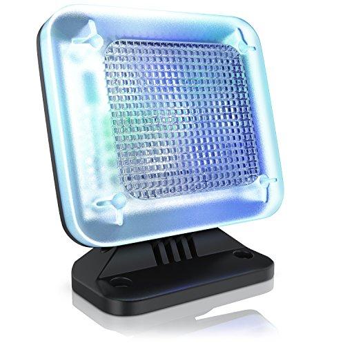 CSL - LED TV-Simulator Fake-TV - LED Fernseh-Attrappe - Dummy TV Fernsehsimulator - Einbruchschutz Home Security - energieeffizient - 12-farbige LEDs - 3 Programme - Zufallsmuster