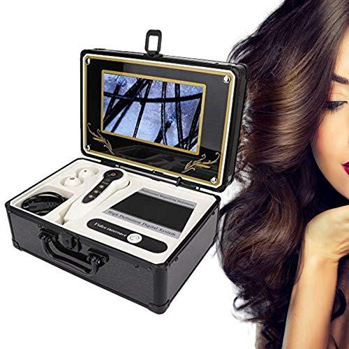 Pangding Detector de Cuero cabelludo, Profesional 50X 200X Folículo capilar Facial Cuerpo...