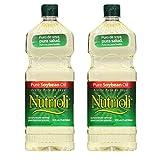 Nutrioli Pure Soybean Oil, 32 fl oz (32oz 2 Pack)