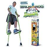 Geospace WALKAROO Xtreme Steel Balance Stilts with Height Adjustable Vert Lifters by Air Kicks
