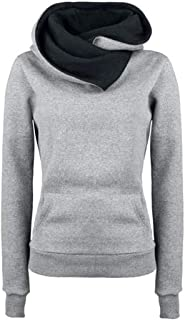 Janly Clearance Sale Women's Long Sleeve Tops, Women Long Sleeve Hoodie Sweatshirt Sweater Hooded Cotton Coat Pullover, Wo...