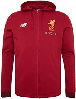 New Balance 2017-2018 Liverpool Travel Hoody (Red Pepper) - Kids