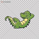 デカールステッカーLittle Gator AlligatorバイクボートBeast子and Wild a4665 3 In. DT16V146650300