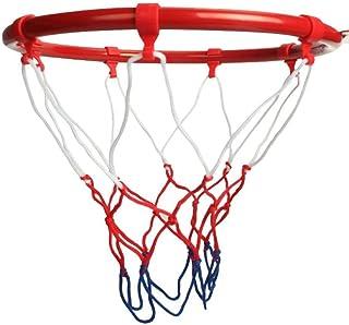 Wall Mounted Basketball Hoop 32 سنتيمتر / 12. 6 بوصة الحائط شنقا كرة السلة هوب الدائري هدف صافي حافة دونك اطلاق النار في ا...