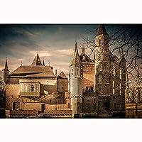 大人難しいジグソーパズル300/500/1000/1500ピースオランダ建築ランドスケープパズル(Size:500PCS)
