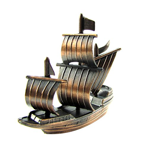 TG,LLC Treasure Gurus Bronze Metal Spanish Galleon Die Cast Pencil Sharpener