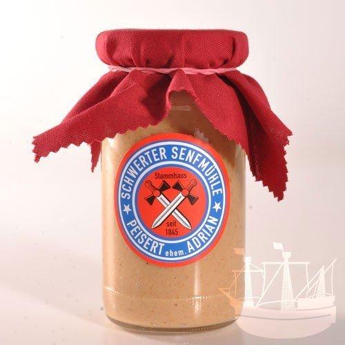 Preiselbeer Senf Senf, zu Dressings, Fleisch & Wildgerichten, einfach Lecker, einfach besonders, 185ml - Bremer Gewürzhandel
