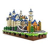 N\A ZT 3D Castillo de Neuschwanstein Puzzles 3D, Alemania Arquitectura la construcción de Modelos Kits de Juguetes del Alivio de tensión Regalos for Mujeres y Hombres, 6800 Piezas