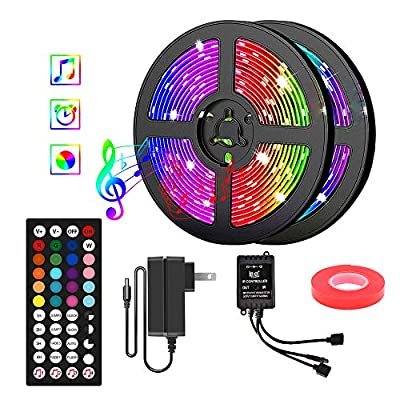 LED Strip Lights 40FT 5050 RGB LED Tape 05032021022041