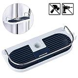 Duschablage für die Duschstange, JRing Ohne Bohren Dusche Ablage Badezimmer Dusche Rack Verstellbar...