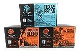 Cafe Ole Taste of Texas Gourmet Coffee K Cups Gift Assortment, 12ct. (36 Cups) Houston Blend, Texas Pecan, Taste of San Antonio