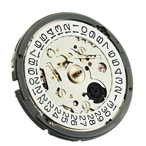 Alextry Uhrwerk Hochpr?zise - Orologio da polso meccanico automatico con visualizzazione giornaliera per il movimento NH35/NH36 Nh35