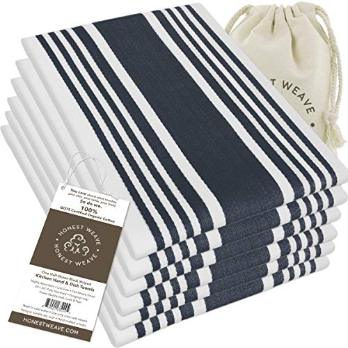 Top 10 Best Selling List for organic cotton kitchen towels made in usa