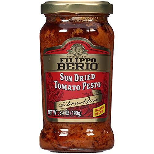 Filippo Berio Sun Dried Tomato Pesto, 6.7 Ounce