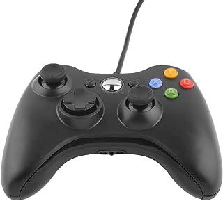 ゲームパッド 有線 USBゲームパッド ゲームコントローラー Xbox 360/Microsoft Xbox/Win7 systemなど適用 (ブラック)