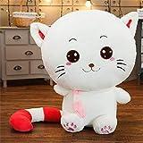 N / A Nettes großes Gesicht Katze Plüschspielzeug Gesicht lächelnd gefüllte Puppe Baby Spielzeug...