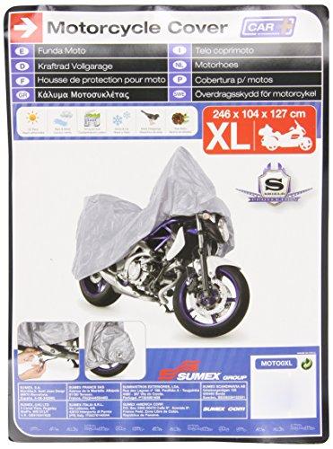 Sumex Moto0XL Carplus - Telo CopriMoto Pvc - XL - 246X104X127 Cm