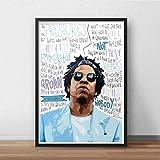 Pósteres/impresiones inspirada en Jay-Z