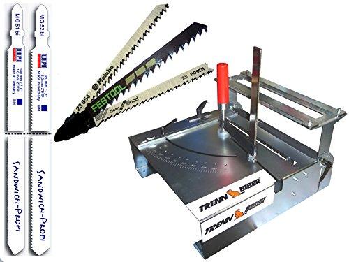 Stichsäge dafür der Sägetisch + Stichsägeblatt Typ Metabo und Bosch, Festool 012LH-4 als Gehrungssäge 92mm Schnitthöhe auch für Längsschnitte eine Sägestation
