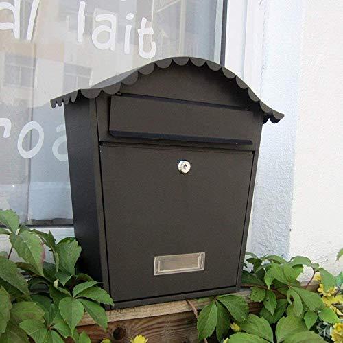 Brievenbus Villa Mail Box Outdoor Brievenbus Postvak Muur Buiten Waterdichte Krant Doos Postbus Beveiliging mailbox
