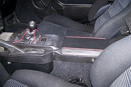 Black Alcantara-Blue Thread RedlineGoods Shift Boot Compatible with Toyota MR2 1985-89