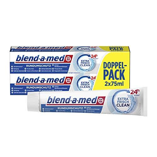 bester Test von blend a med classic Mischung Amed Universal Protection Extra frische, saubere Zahnpasta (1 x 2 x 75 ml)