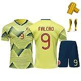 Ropa de fútbol para adultos y niños, Falcao 9 James 10 Cuadrado 11 equipo...
