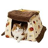 アイリスオーヤマ 秋冬用 ペットベッド ホットカーペット取付可 コタツ 小型犬 猫用