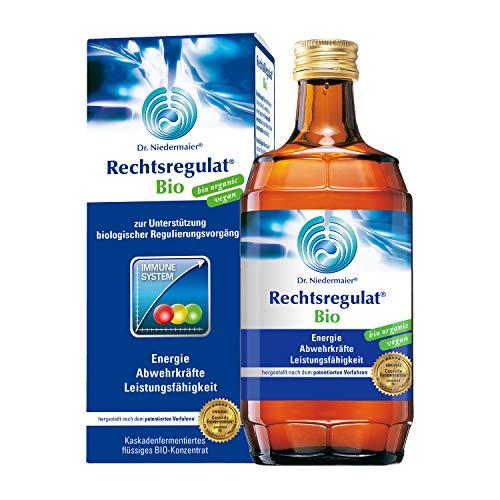 Dr. Niedermaier Rechtsregulat® Bio I enthält natürliches Vitamin C I Immunsystem stärken I fermentierte Enzyme für eine biologische, rein pflanzliche Immunregulierung I 2x 350ml (2er Pack)